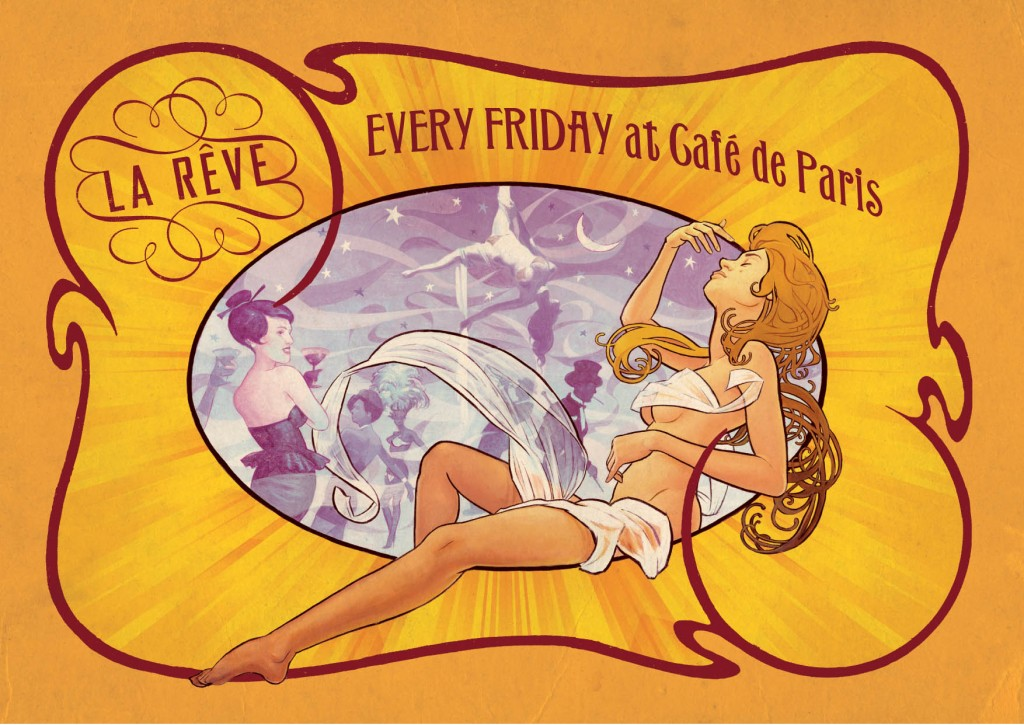 Friday La Reve Flyer
